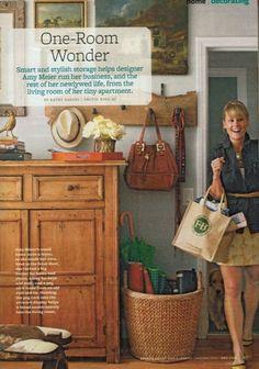 Love the basket, wall hanger