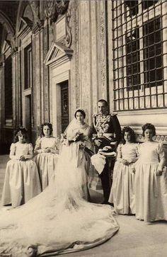 Infante Jaime of Spain's wedding in Rome