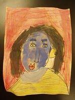 Kinder self-portrait