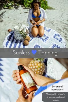 This revolutionary self-tanner provides beautiful color while benefiting your skin with botanical ingredients.