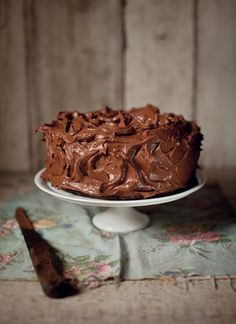chocolate fudge cake | What Katie Ate