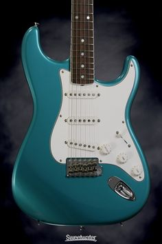 Teal Electric Guitar!!!! ❤Love this❤
