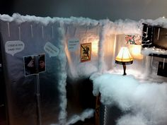 A christmas story cubicle by microbilt corporation, via Flickr