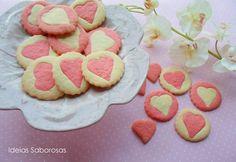 Ideias Saborosas: Corações de Manteiga {Bolachas Dia dos Namorados}