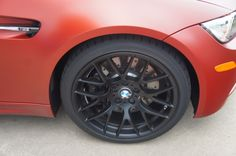 2013 BMW M3 in FROZEN RED edition w/ Blacked out wheels/rims #BMWTOWSON #27149