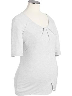 Maternity Short-Sleeved Jersey Nursing Top // Old Navy (so glad these are back!)