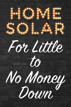 A little-known government program called the Residential Renewable Energy Tax Credit helps put solar on your home. Homeowners are reducing their utility payments by hundreds of dollars per year, before the tax credit expires on December 31, 2016!