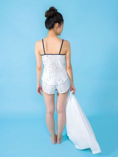 Fifi sewing pattern - camisole and shorts boudoir set