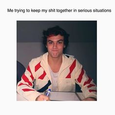 I'm never serious I laugh too much  #dolanedits #dolanfamily #like4like