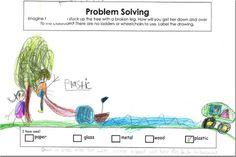 Higher Order Thinking challenge - properties of materials - Kindergarten level!