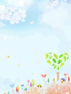 Background Psd, Background Powerpoint, Cartoon School Bus, Cartoon Kids, Cute Wallpapers, Wallpaper Backgrounds, Borders And Frames, Baby Supplies, Spring Activities