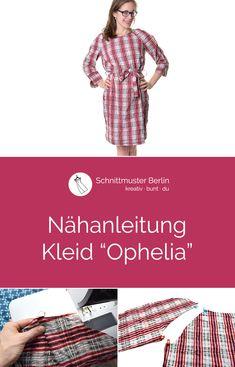 """Nähanleitung für das Kleid """"Ophelia"""""""
