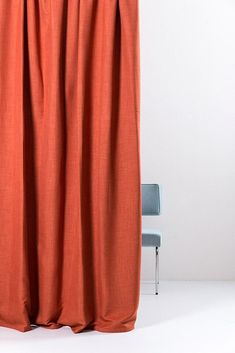 The extra wide blackout curtains have the effect of linen on the inside with a percent blackout fabric giving elegant privacy to any home. Satin Curtains, Blackout Curtains, Drapery, Kids Curtains, Cool Curtains, Bold Colors, Kids Bedroom, Coral