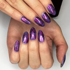 Oooh our gal is a purple princess thanks to metallic foils are giving us LIFEWanna get the look? Click the link in our bio to book today! Neon Acrylic Nails, Get The Look, Purple, Claws, Metallic, Beauty, Princess, Book, Instagram