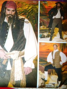 Pirates of the Caribbean Johnny Depp Costume by TheIDconnection, $25.00