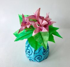 62 best small origami flower arrangements images on pinterest small flower arrangements with vase mightylinksfo