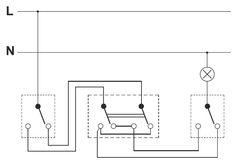 Schemat połączeń łączników