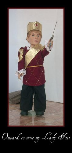 Prince Outfit 18 Inch Doll Clothes for Boy Doll by TwiceLovedDolls