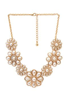 Follow the Flowers Bib Necklace   FOREVER21 #Accessories