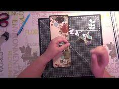 Tuto Scrap - Carte japonaise - part 1 - YouTube