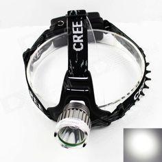 1. Cree XM-L U2 800lm 3-Mode White headlamp; http://j.mp/1ljDWOR