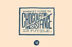 Mark Lozano . Ligature Collective . resistance is futile . chocolate