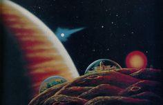 Morris Scott Dollens. Science Fiction. 1950s.