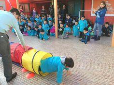 La Escuela de Kinesiología de la Universidad Bernardo O'Higgins hace entrega de materiales didácticos a Escuela Especial de Lenguaje ubicada en la comuna de Maipú