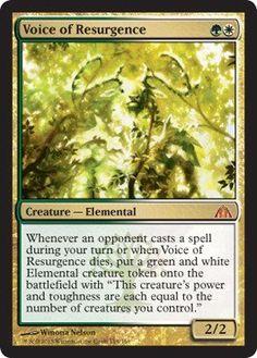 Magic: the Gathering - Voice of Resurgence - Dragon's Maze $26.49 (save $9.50)  #Magic:theGathering