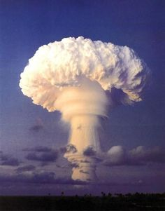 An All Natural Mushroom Cloud! Woow! ~ kinda hard to believe that's natural....