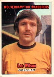 Nigel's Webspace - A&BC Gum - 1970/71, Footballers, Orange backs, Wolverhampton Wanderers