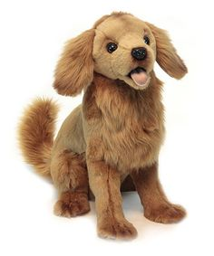 Look at this Golden Retriever Puppy Plush Toy on #zulily today!