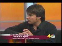 Jimmy Wayne, CASA spokesman interview on Nashville TV