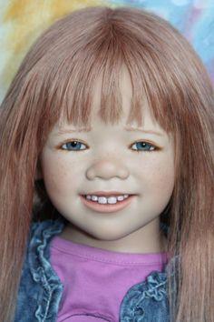 Супер девочка, с супер улыбкой! Mardgie от Anette Himstedt / Коллекционные куклы Annette Himstedt / Бэйбики. Куклы фото. Одежда для кукол