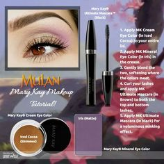 Disney Princess Mulan inspired Mary Kay Look!
