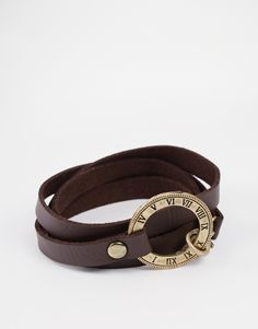 Icon Brand Wraparound Numerical Bracelet