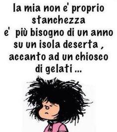 Vignetta non è stanchezza Good Mood, Funny Quotes, Self, Motivation, Memes, Friends, Dice, Bikini, Facebook