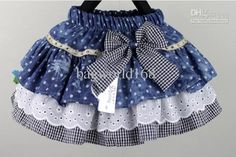 Girls Skirts Multi-layer cake skirt with bow Children Jeans skirts Lattice skirts, Girls Skirts Multi-layer cake skirt with bow Children Jeans skirts Lattice skirts 2017 Girls Skirts Multi Layer Cake Skirt With Bow Children Jeans Ski. Baby Girl Skirts, Baby Skirt, Little Girl Dresses, Girls Dresses, Mom Dress, Baby Dress, Toddler Skirt, Baby Sewing, Kind Mode