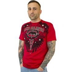 T-Shirt Ecko MMA Crowsnest red ★★★★★