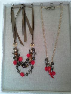 Cute spring necklacezs!