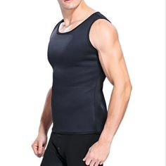 2e356a2278fb3 ECMLN Men s Vest Shaped Ultra Hot Slimming Waist Training Shaper. Body  ShapesWaist Trainer VestWeight GainWeight LossSlim ...