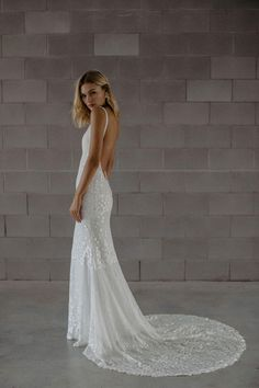 Georgie by Made with Love now available to purchase on Covet Bridal. Super sexy Italian sequined lace gown featuring an entirely open back. Size Can be altered down at least 3 sizes Size 12 Wedding Dress, Wedding Gowns, Budget Wedding Dress, Wedding Outfits, Georgie, Budget Bride, Modern Romance, Bridal Boutique, Boutique Shop