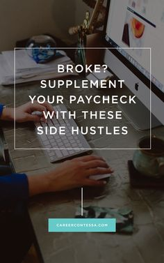 Never see a 0 in your bank account with these side #hustles. #SideHustle #Income #SideJob #JobHunt #JobSearch