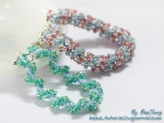 spiral with duo's - what a thought!   #seed #bead #tutorial