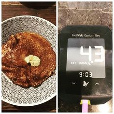 Day 5 of #eggfast and it was egg fast pancakes with lemon juice and sweetener for dinner. Heading into two transition days tomorrow. Very happy with my ketosis reading.  X . . . . @health_first_keto @thebestversionofmaggie @keto.genic.life @vm_sjourney @ketolauren_xo . #missrdaisy #racheldaisy #melbourne #melbourneblogger #blogger #recipeblogger #keto #ketodiet #ketoblogger #ketorecipe #recipe #ketomeal #ketoweightloss #ketoaustralia #ketogirl  #ketolifestyle #ketofood #intermittentfasting  #lch