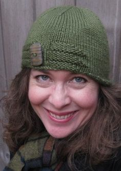 Indulge yourself this winter and use free knitting patterns for hat to make yourself a knit cloche.  This Double Double Cloche can be knit in a day and will keep your head toasty all season long.
