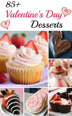 Valentine's Day Desserts - Over 85 decadent desserts that are sure to woo that special person in your life on Valentine's Day! @introvertbaker