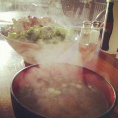 Steamy yummy-ness! (at Teriyaki to Go)