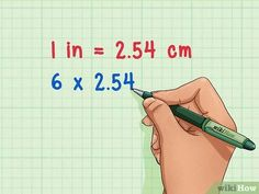 3 Ways to Convert Inches to Centimeters - wikiHow Fraction Wall, Algebra Formulas, Lumber Sizes, Fractions, Step By Step