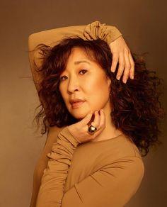 Sandra Oh, Cristina Yang, Jodie Comer, Oh My Love, Beautiful Asian Women, Greys Anatomy, Asian Woman, Dreadlocks, Grey's Anatomy